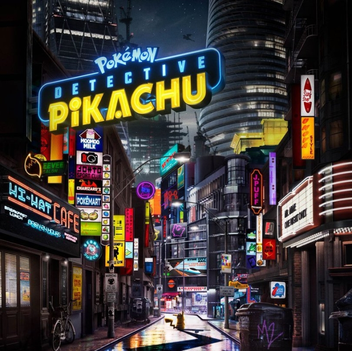 Detective Pikachu Promotional image